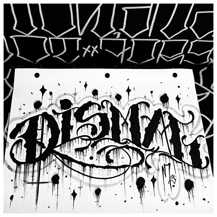 Dismal Dreary Dark Evil Handstyles Tattoo Lettering Horror Tattoos Tattooed Handty Chicano Lettering Tattoo Lettering Design Tattoo Lettering Fonts