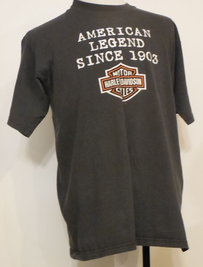 bc9dcf9a Harley-Davidson Gray American Legends Since 1903 S.F. CA T-Shirt XL Made in  USA #HarleyDavidson #GraphicTee