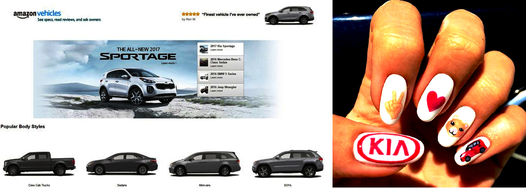 More ecommerce Possibilities. Amazon might sellig KIA cars online ...