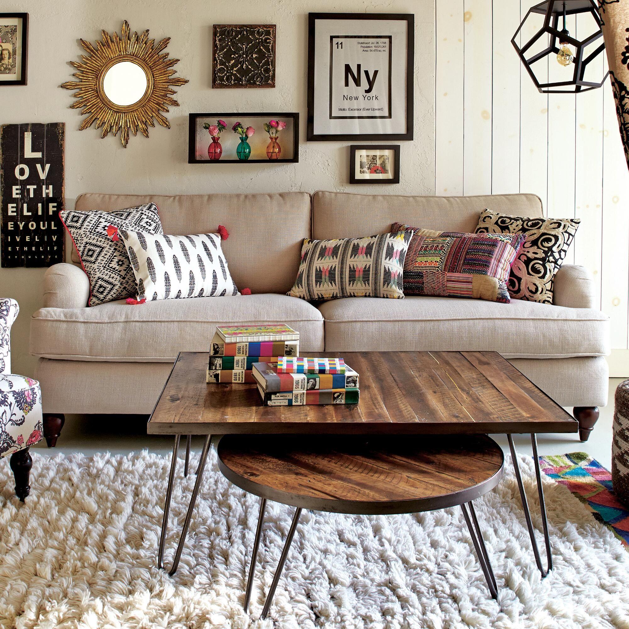 Borde de hierro de mesa redonda   Interiores   Pinterest   Mesa ...