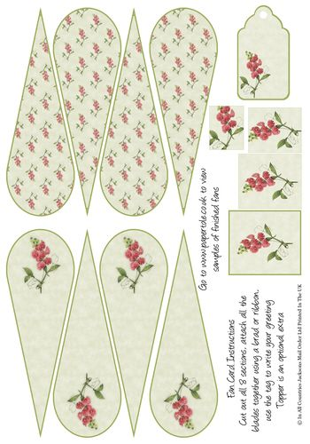 Pin By Eugenia Whitaker On Paper Fans Pinterest 3d Decoupage