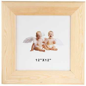 12 X 12 Wood Frame Wood Frame Frame Frames On Wall