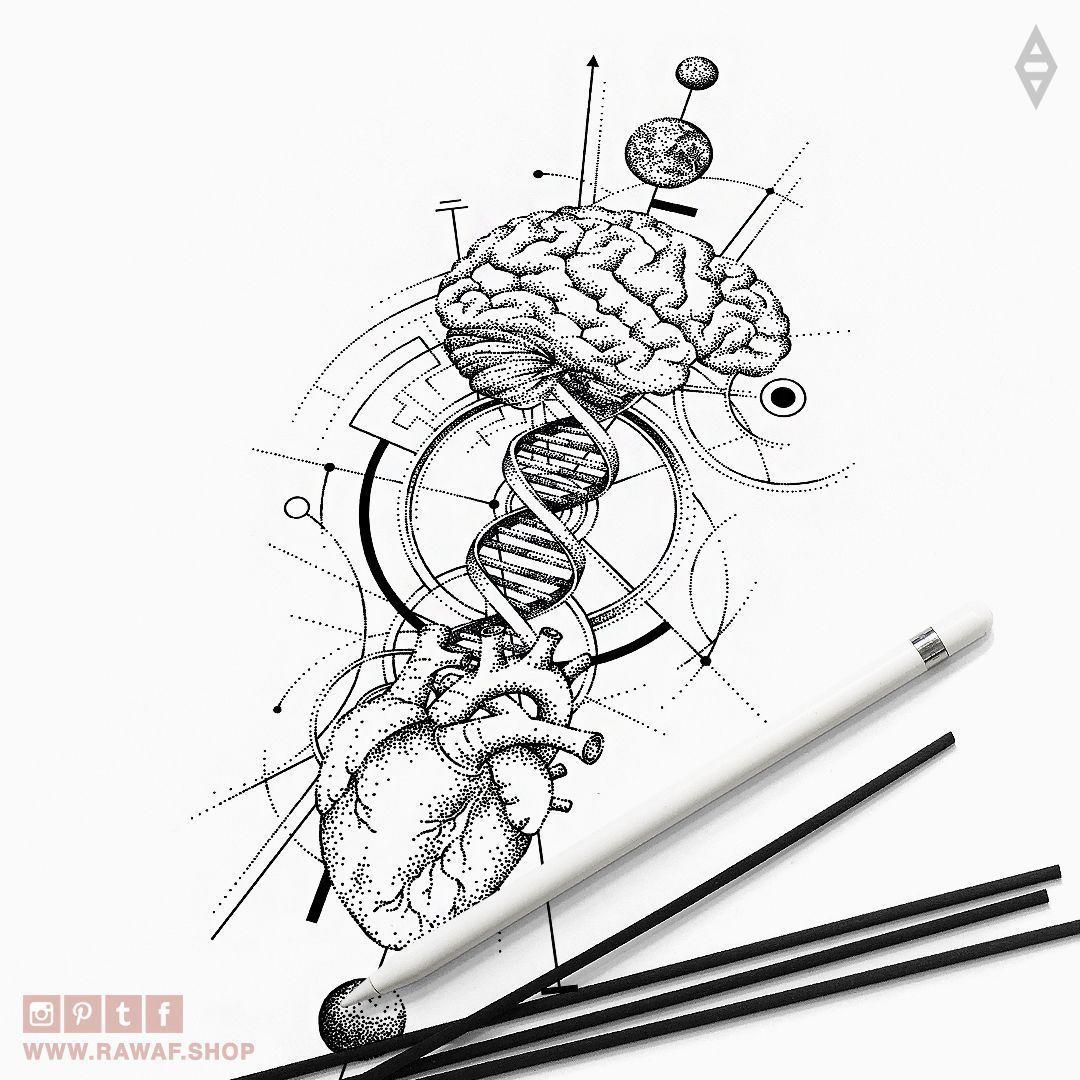 Pin By Chien Wei Liu On Tattoo Geometric Tattoo Design Geometric Tattoo Dna Tattoo