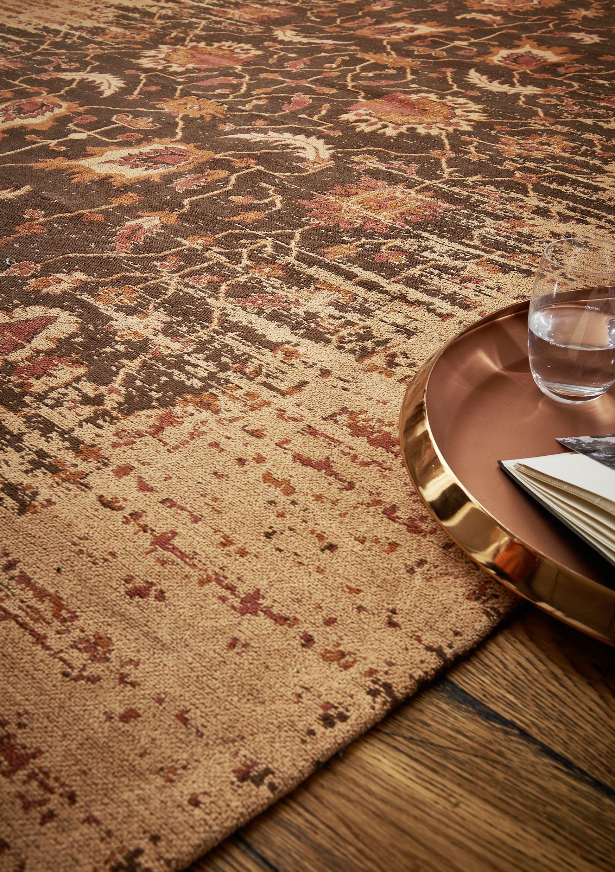 Teppich Mit Orientalischen Mustern Und Modernem Touch Herrlich