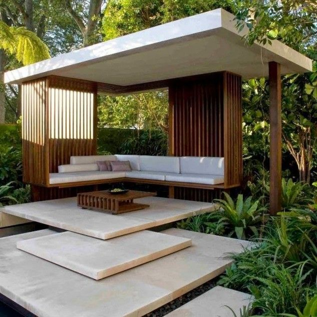 14 outstanding pergola designs that will enhance your. Black Bedroom Furniture Sets. Home Design Ideas