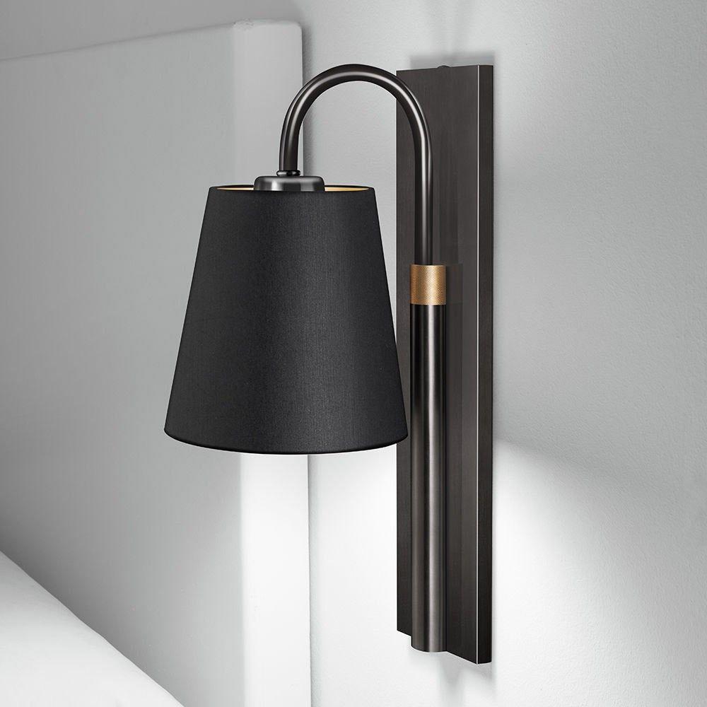 Chelsom Shaftesbury Single Wall Light Black Bronze English Brass Wall Lights Wall Lamp Brass Wall Lamp
