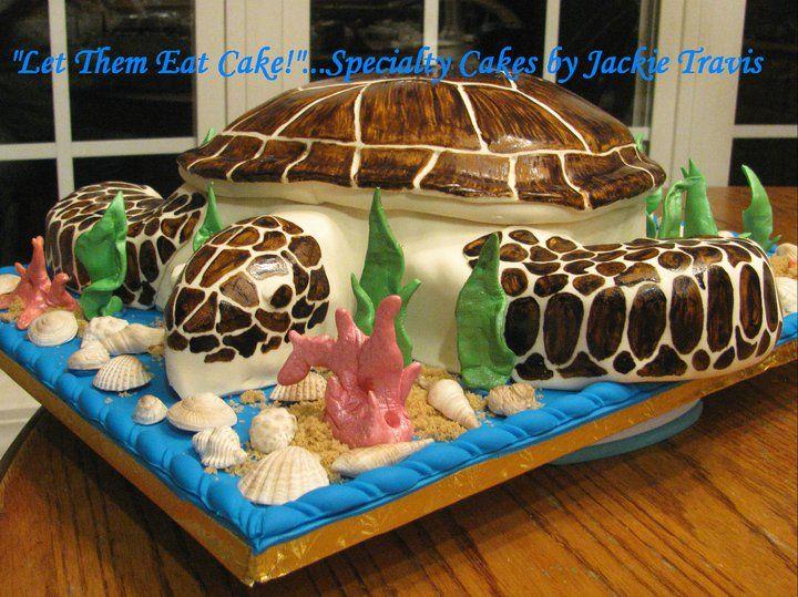 Sea Turtle Cake Let Them Eat Cake Scarlett B Day ️
