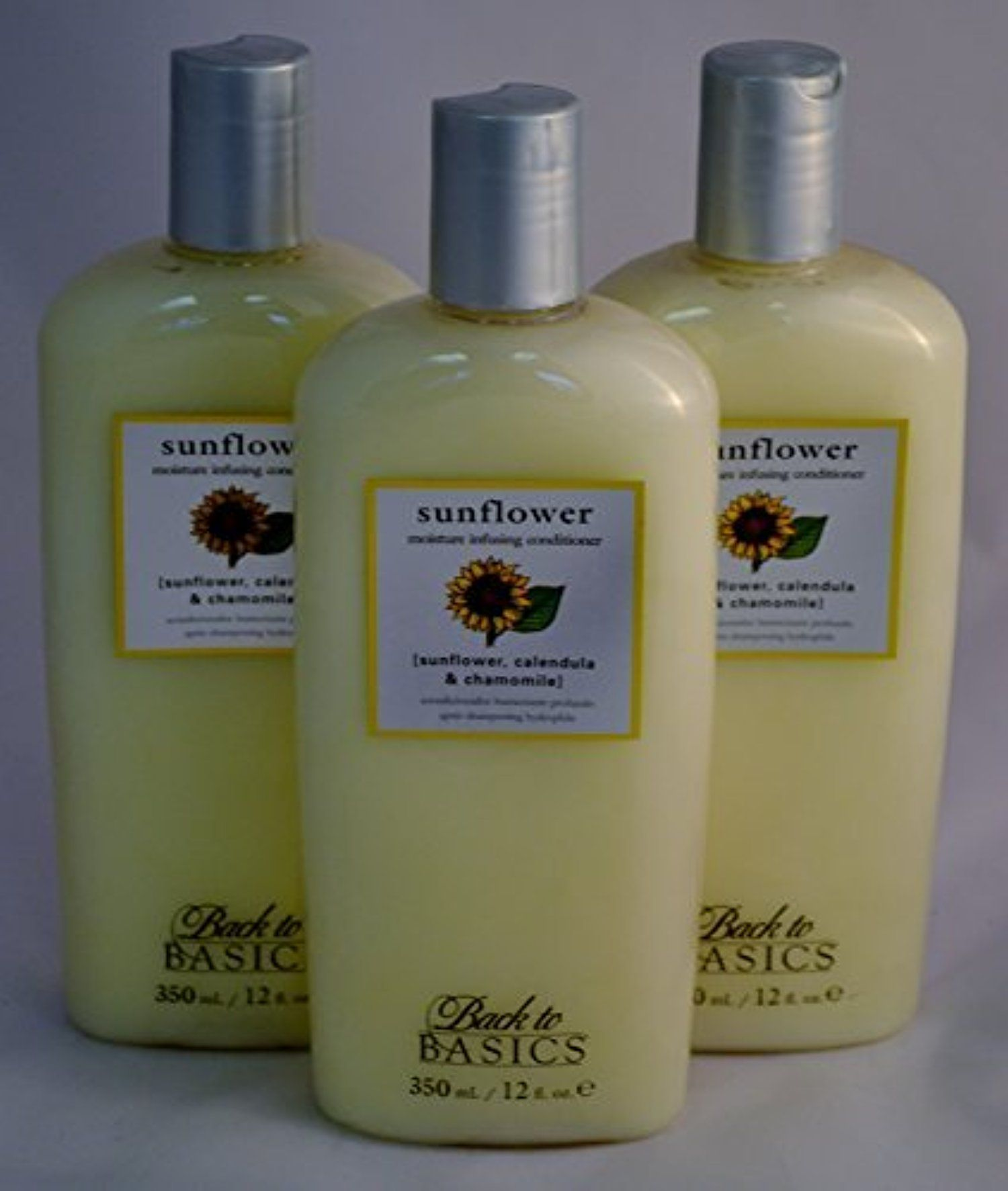 Back to Basics Sunflower Moisture Infusing Conditioner 12 oz ~ 3 PACK by Back to Basics -- Awesome products selected by Anna Churchill