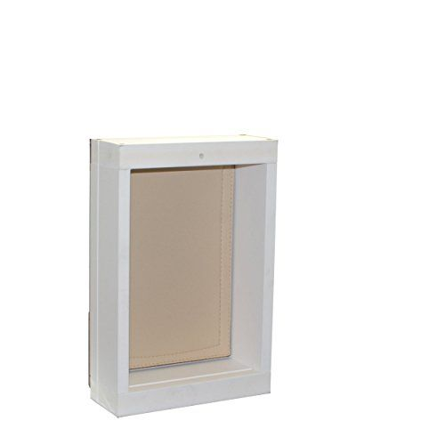Energy Efficient Dog Door For Wall Small Dog Door Installs Into