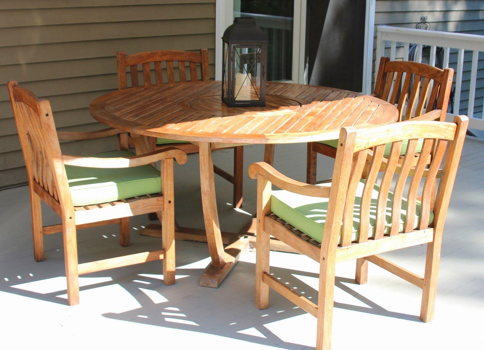 Cleaning Sealing Outdoor Teak Furniture Teak Outdoor Furniture