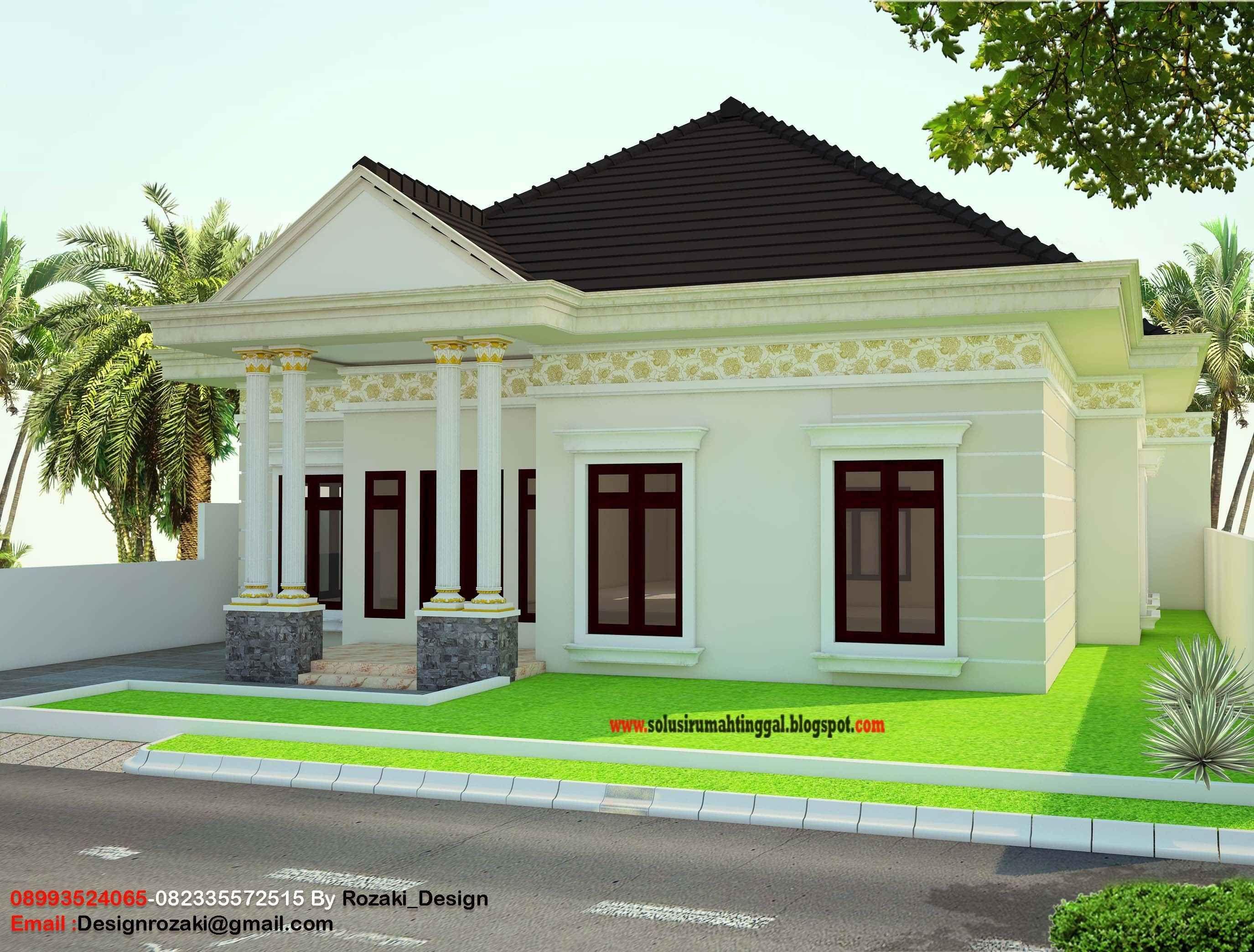 7 Model Sketsa Rumah Klasik Modern Yg Paling Ideal ...