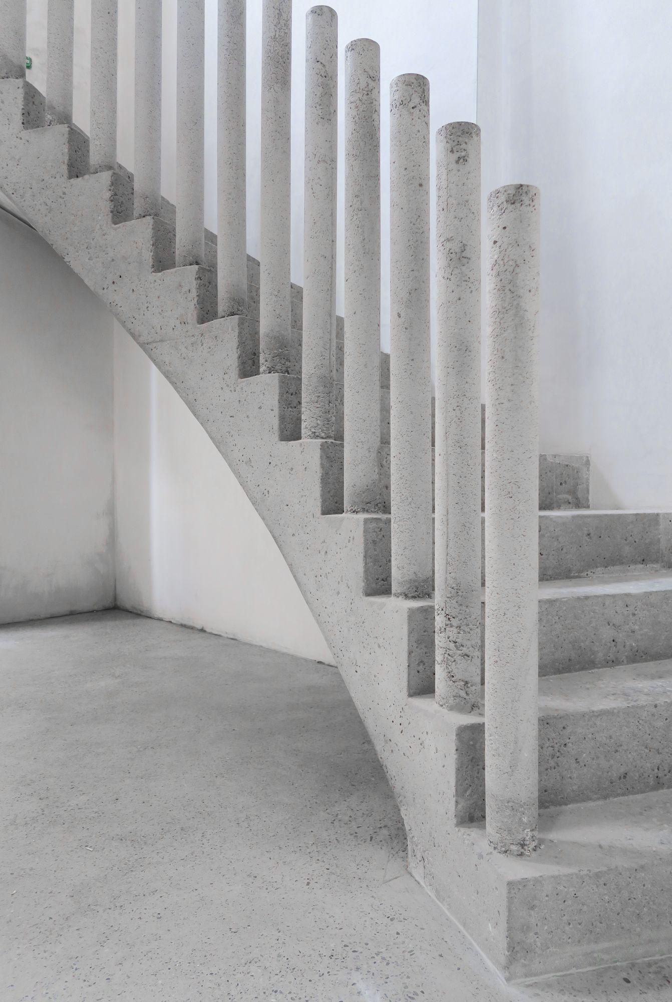 Interior Design Addict House Transformation Bast Concrete Stairs Stairs Design Modern Staircase