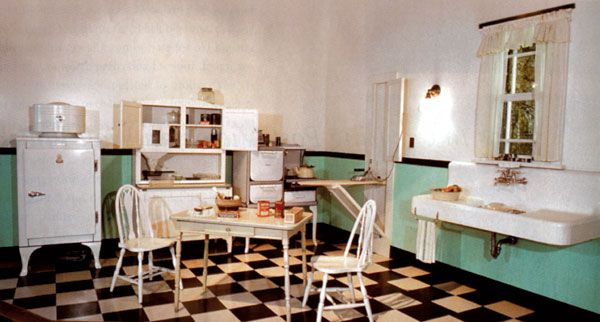 flahomepros on 1930s kitchen 1920s kitchen and Vintage kitchen