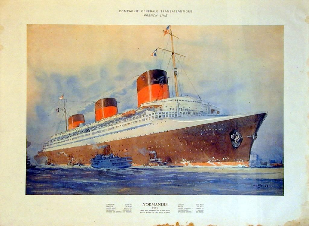 Normandie 1935  With Images
