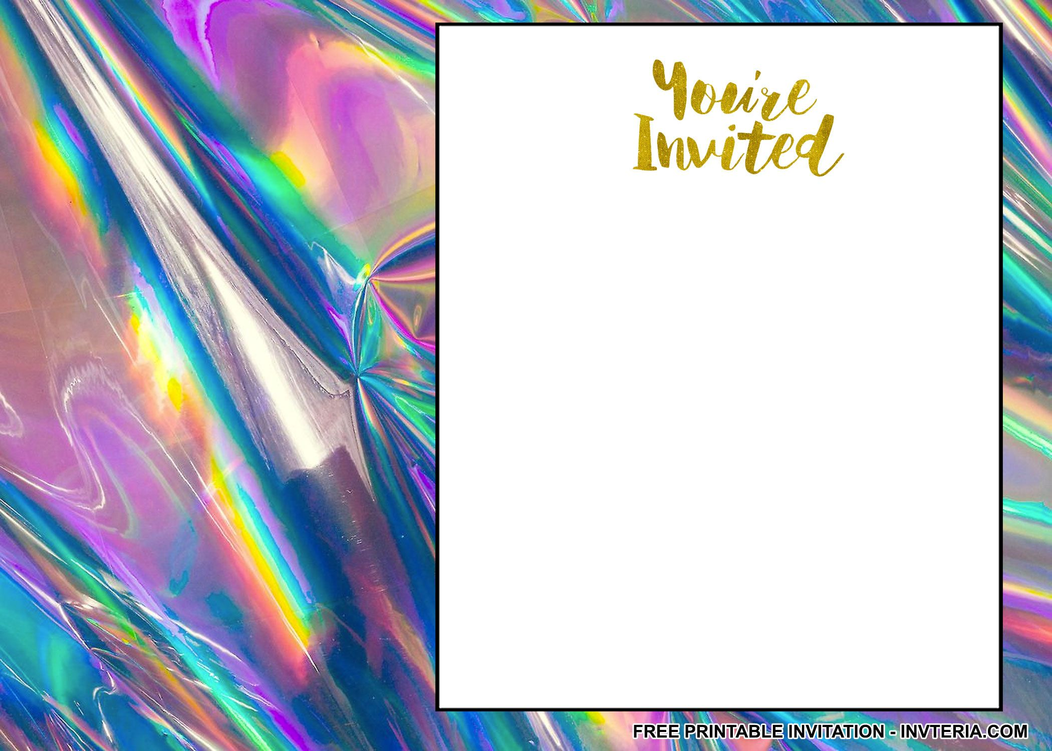 AWESOME FREE PRINTABLE 25TH BIRTHDAY INVITATIONS Birthday Template 25th Invitation Congratulations