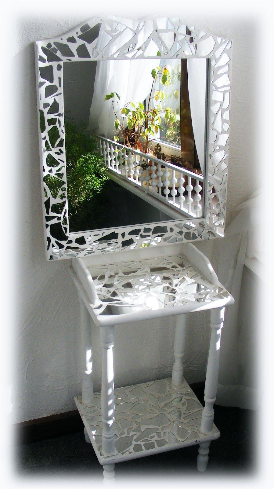 Mosaic Mirror   Garden   Pinterest   Espejo, Mosaicos y Vidrio