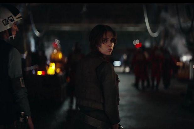 Jyn Erso - Star Wars Rogue One trailer