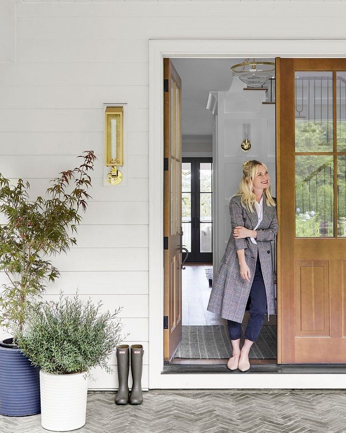 Exterior Of Mudroom Addition In Portland Oregon I Love The Porch: Inside Emily Henderson's Latest Transformation!