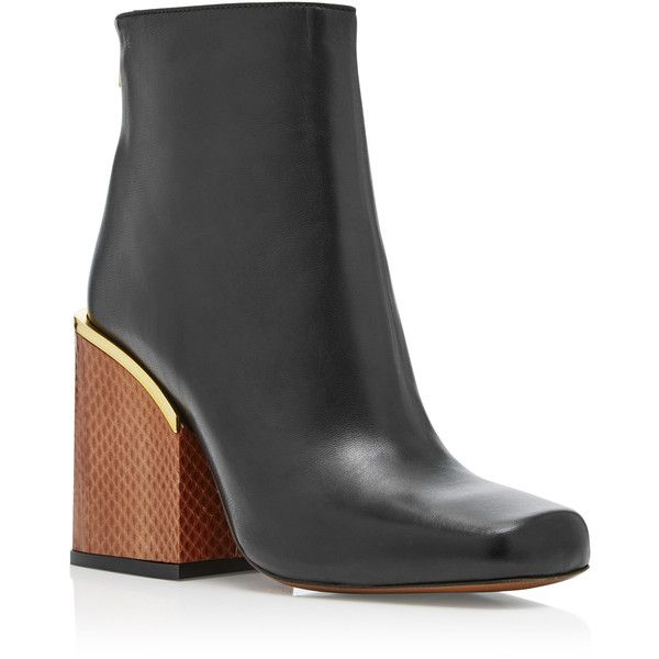New Concept Marni Ankle Boots Leather Black