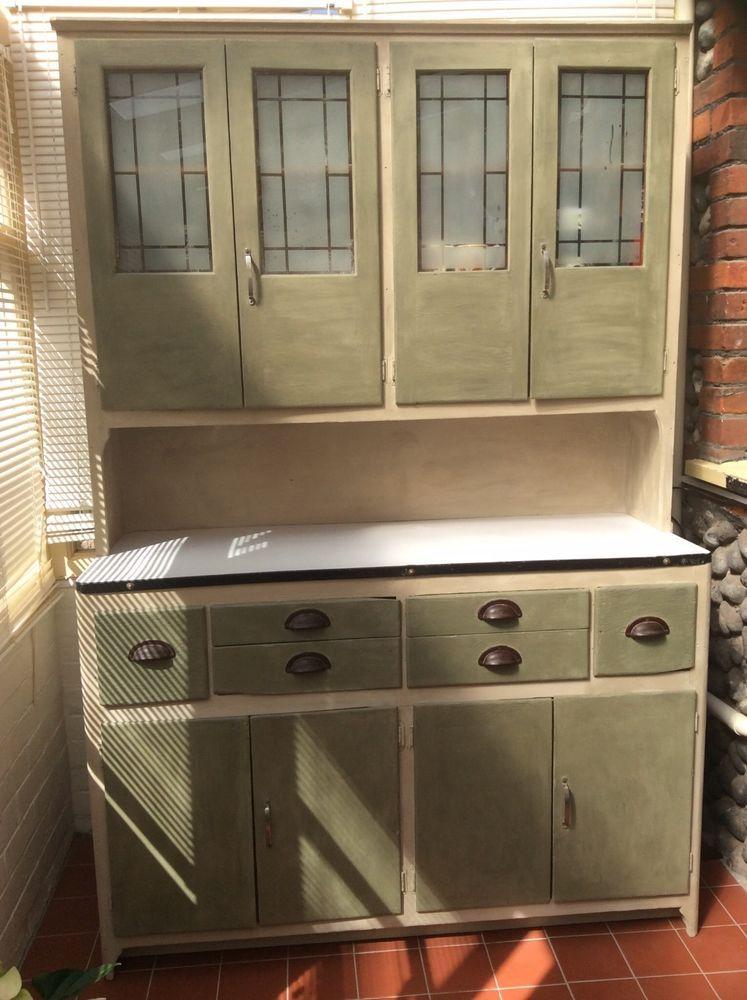 Vistoso 50s Gabinetes De Cocina De Metal Ideas Ornamento Elaboración ...