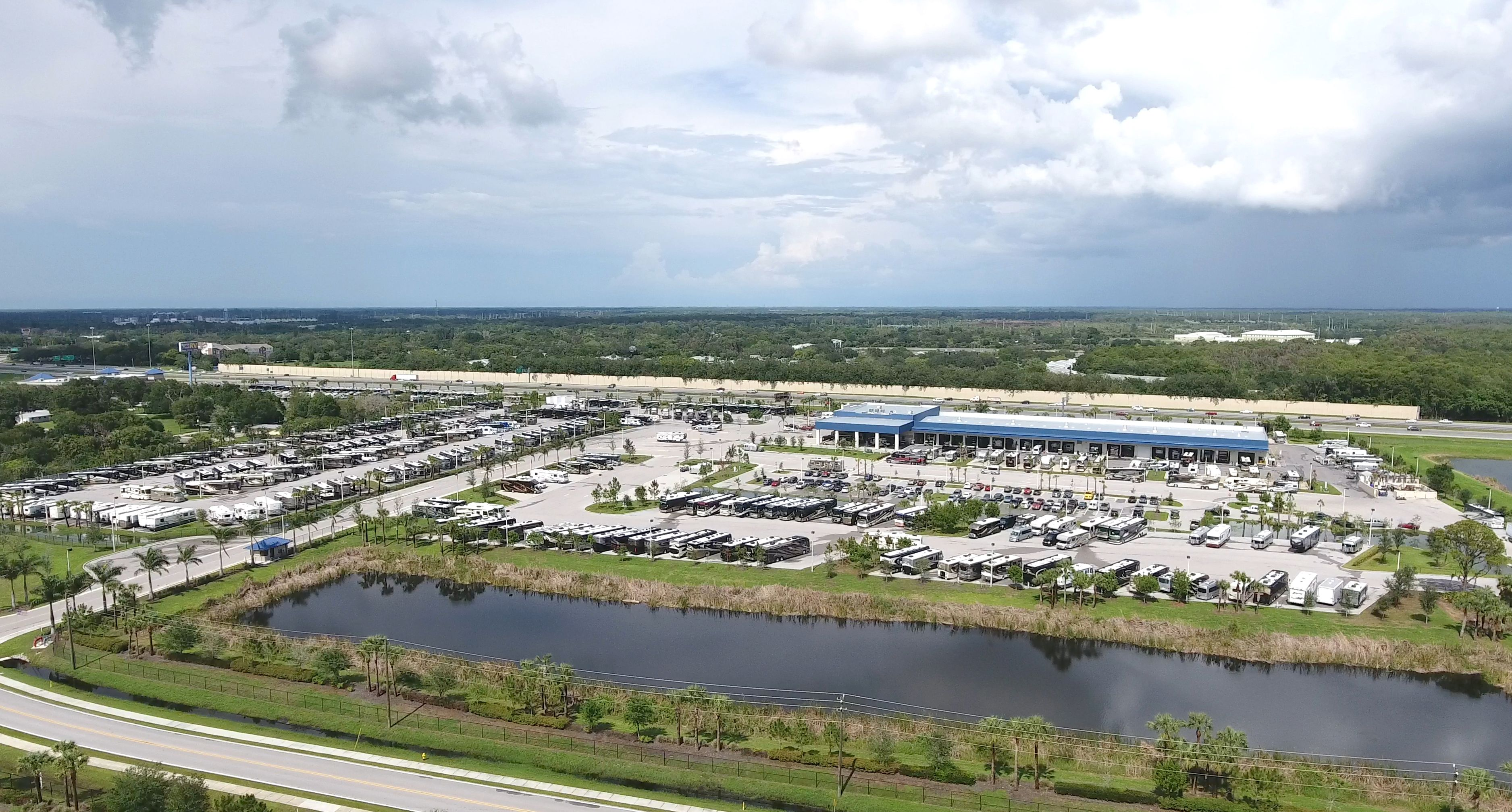 South Florida's Largest RV Dealer. World's Largest Newmar Motorhome Dealer. Hundreds of new and used RVs in stock. Over $100,000,000 in inventory. America's most popular selling RVs.