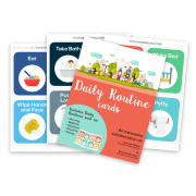 Printable Routine Picture Cards #discipline