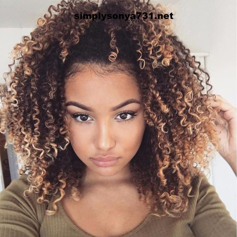 1 Pc Ombre Brazilian Curly Weave Human Hair Bundles Natural Hair Styles Hair Styles Curly Hair Styles Naturally