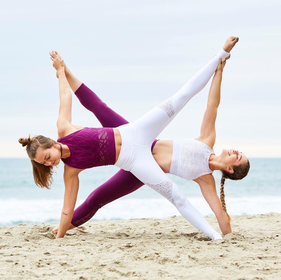 Yoga Yogainspiration Partner Yoga Poses Yoga Challenge Poses Two Person Yoga Poses