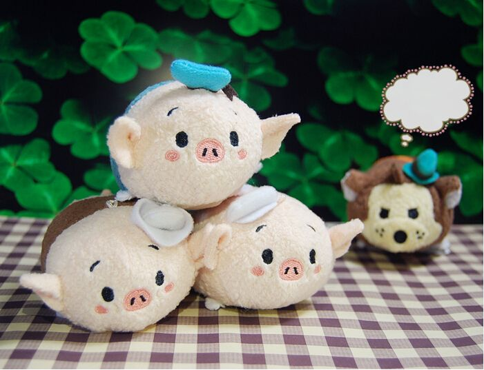 Find More Movies Amp TV Information About Three Little Pigs Plush Toys TSUM TSUMS Dolls