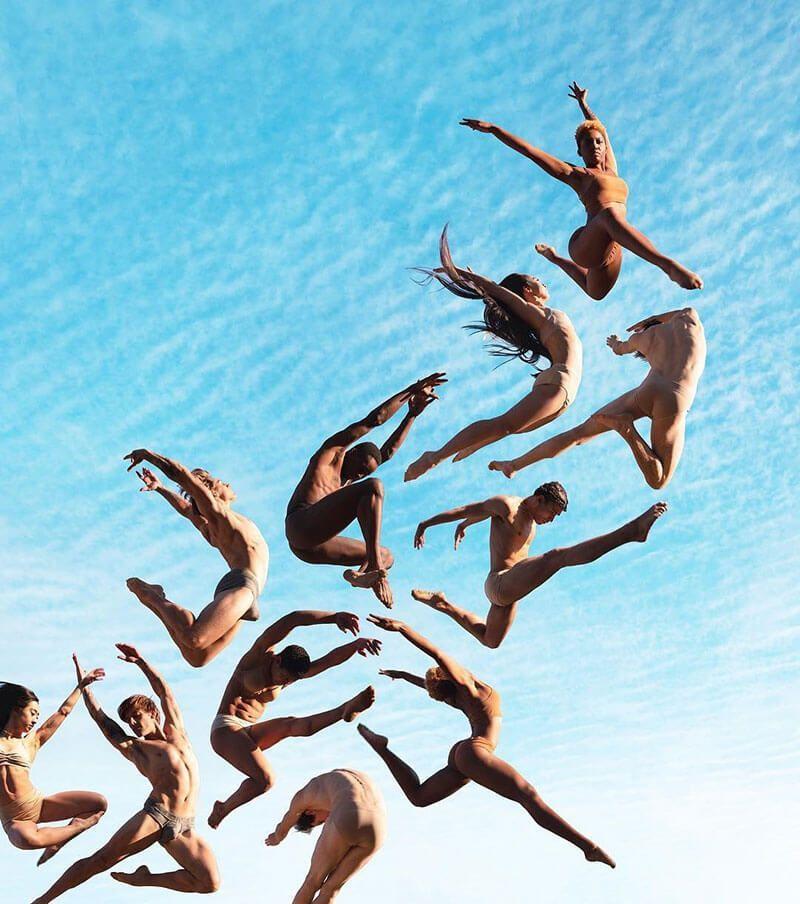 Fotografia concettuale Rob Woodcox #fitness inspiration desenho Fotografia concettuale: i corpi vola...
