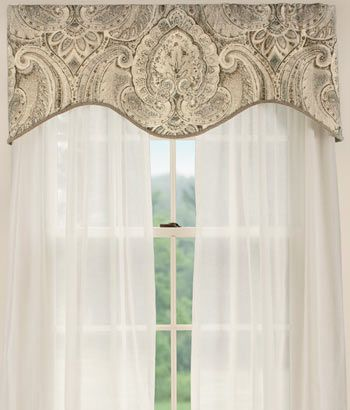 Pin By Laura Briffa On For The Home Country Curtains Custom Window Treatments Valance