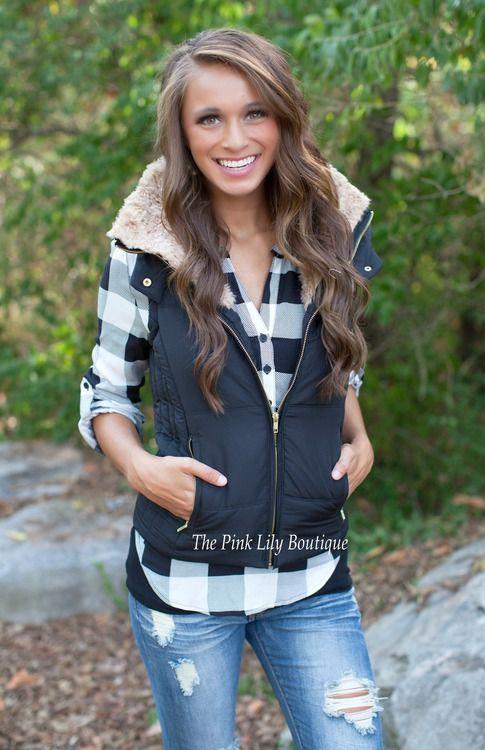 Black Puffer Vest!  c1ddd32ac3
