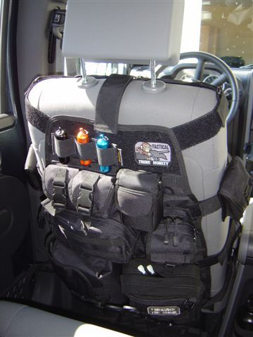 GEAR Seat Covers Truck Storage Vehicle Tactical