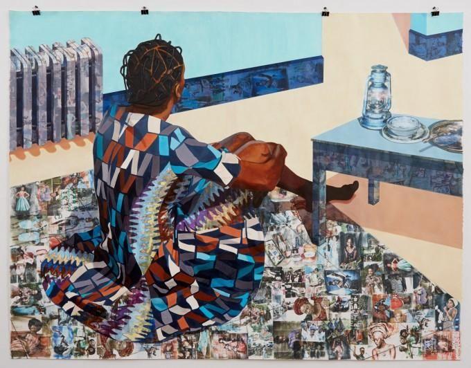 Njideka Akunyili 15 Young Black Artists Making Waves In The Art World Complex Black Artists African American Art Art