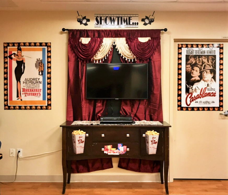 Affordable DIY Movie Theatre Life Station For Use On