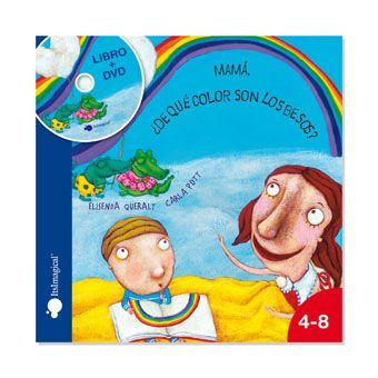 Mi Mundo Sabe A Naranja Mamá De Qué Color Son Los Besos Libros Libro Infantil Libro Ilustrado