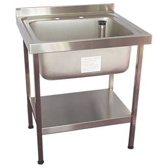 Franke Midi Catering Sink Stainless Steel 1 Bowl 750 x ...