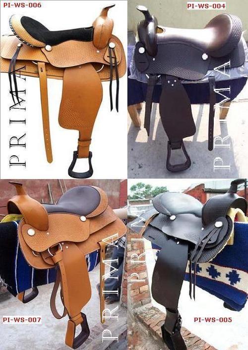 Horse Tack Colorful Pictures Of Western Saddles