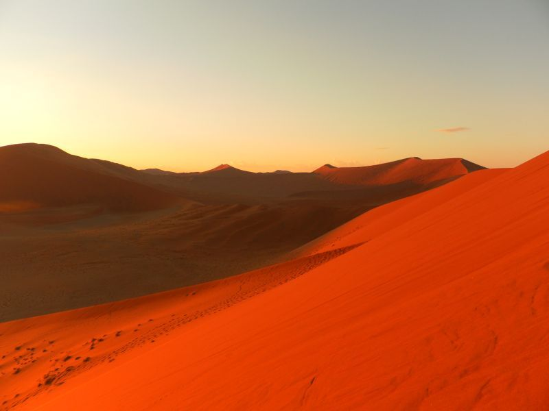 Dune 45, Sossusvlei, Namibie   Celestial, Outdoor, Sunset on Dune Outdoor Living  id=74986