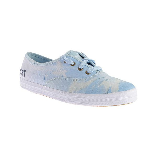 adc604023be Women s Keds Taylor Swift Champion Sneaker - Seagull 1989 Print Casual  ( 55) ❤ liked on Polyvore featuring shoes