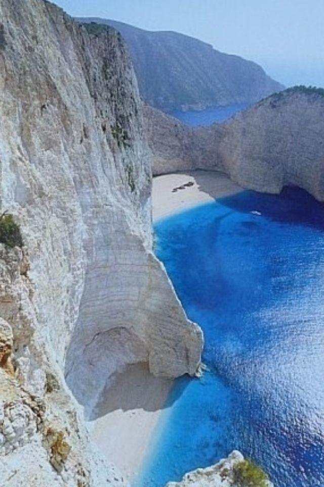 Greece - I love the blue water here