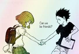 Koe No Kitachi A Silent Voice Manga Ishida Shouya Bullies A Deaf Girl Nishimiya Shouko To The Point That She Drops A Silent Voice Manga Anime Anime Shows