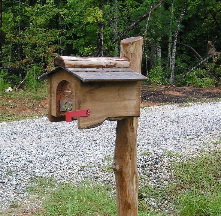 Image result for funky mailboxes | Rustic mailboxes ...  Funky Painted Mailboxes