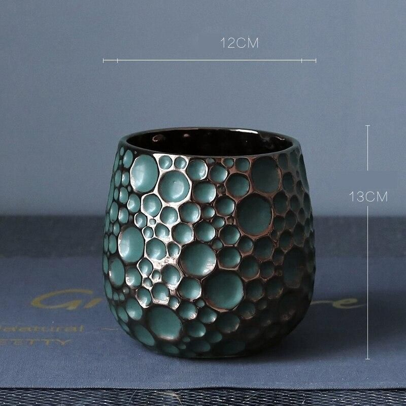 Photo of Luxury Dense Moon Crater Tabletop Flower Vase
