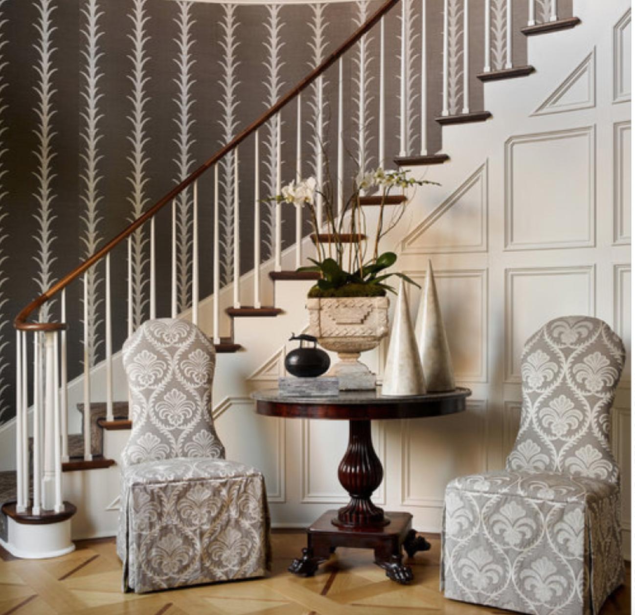 Schumacher Wallpapers | Interior design, Schumacher ...