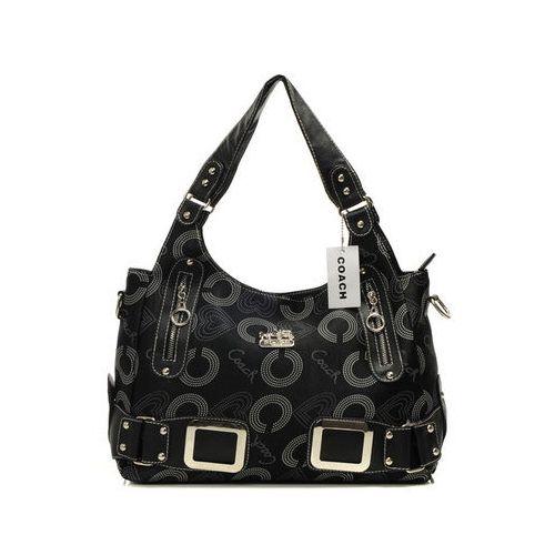 coach waverly in signature large black totes dnv purses rh pinterest com