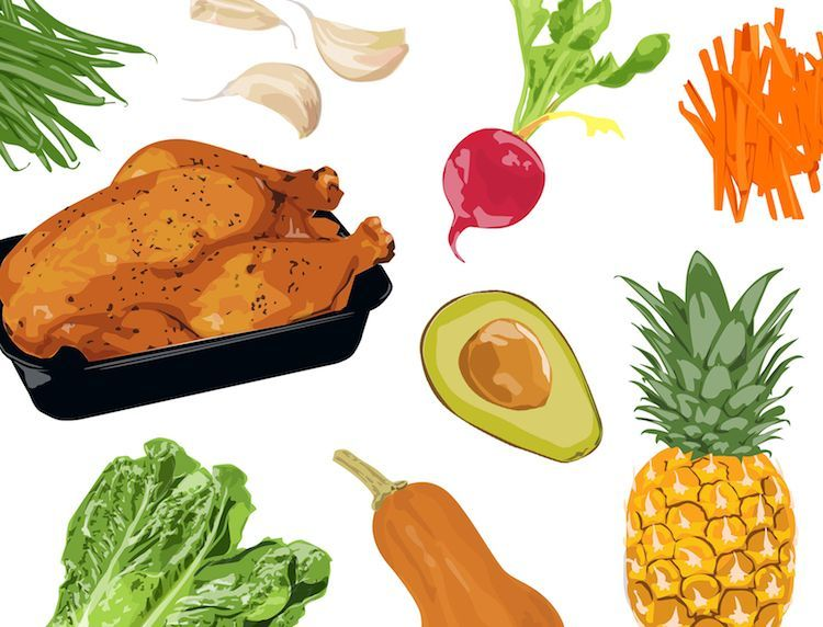 A 3-day detox plan for busy people  Salad bar hacks, dinner