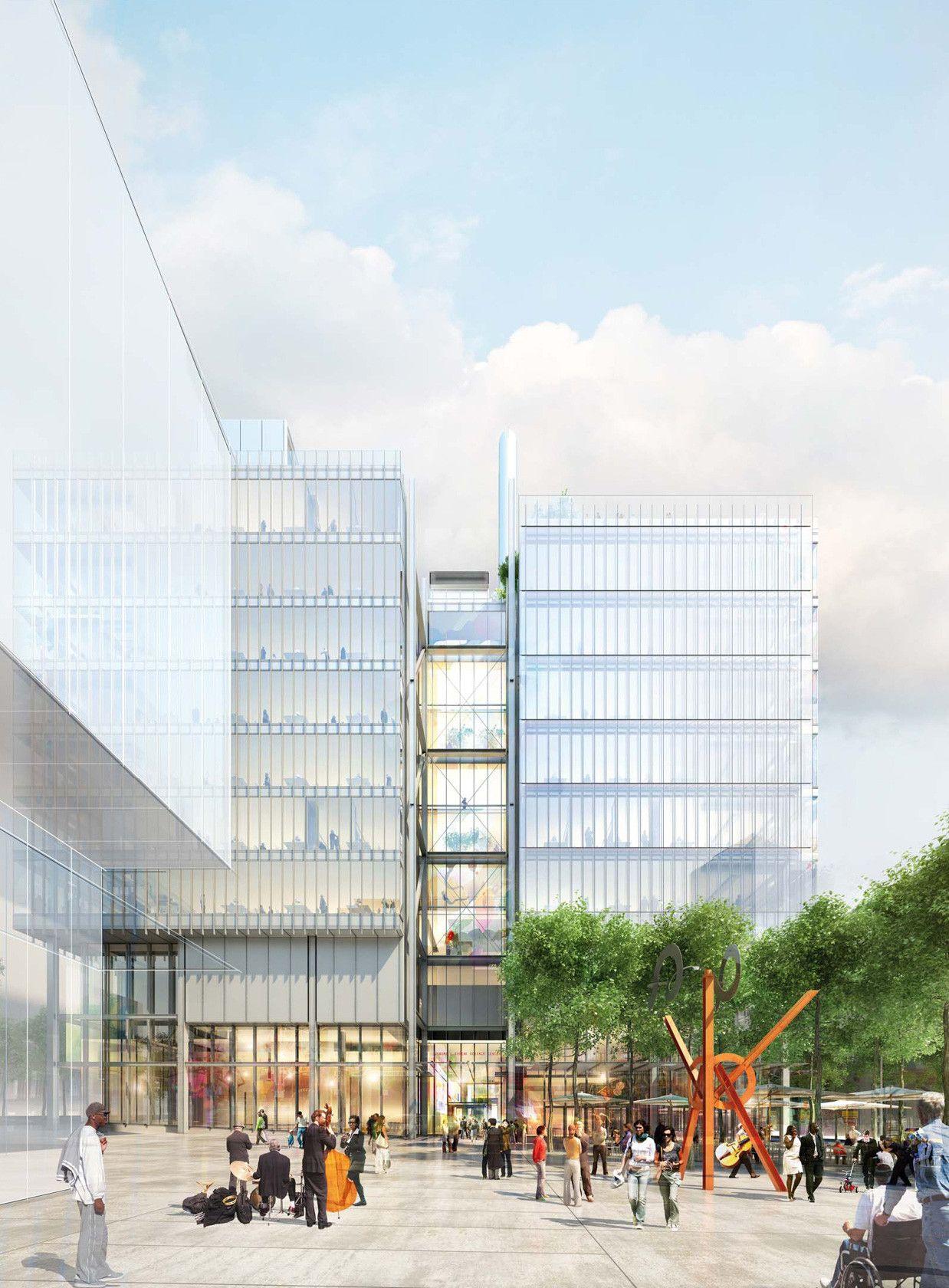 Galera de Renovaci³n y Expansi³n Museo de Arte de Harvard Renzo Piano Payette 4
