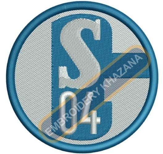 FC Schalke 04 embroidery designs