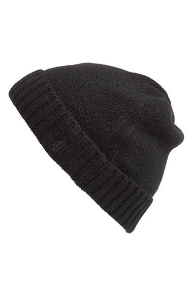 Polo+Ralph+Lauren+Cashmere+Blend+Beanie+available+at+#Nordstrom